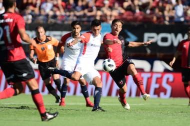Como contra Boca, Rubén Botta fue el autor del gol de San Lorenzo.