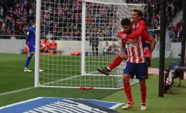Atlético Madrid extiende su invicto en La Liga en el estadio Wanda Metropolitano a 12 partidos (8-4-0).