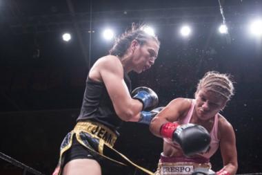 Liz Crespo cumplió un gran papel en su primera presentación en Estados Unidos. Se ganó una revancha.