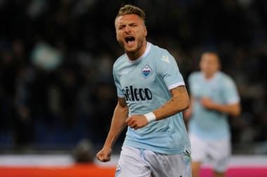 Con doblete de Ciro Immobile, goleador de la Serie A, Lazio derrotó 2-0 a Hellas Verona.