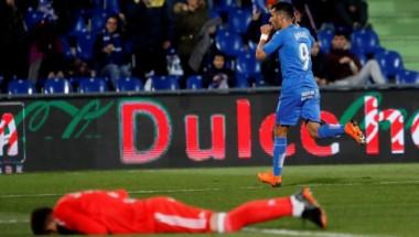 Getafe goleó en condición de local a Celta de Vigo.
