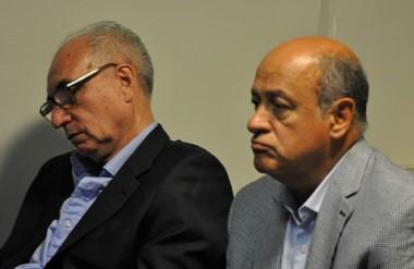 Sin sanción. Valenzuela Linage (izquierda) y Luján devolverán dinero para no ir a juicio oral y público.