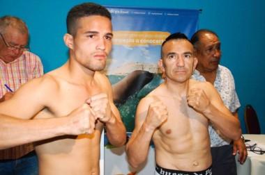 Vargas (54.600) y Narváez (55 exactos), se enfrentarán hoy en Madryn. La velada irá en directo por TyC Sports.