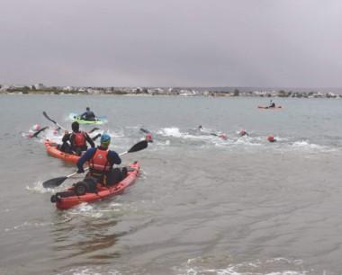 Hoy habrá evento de aguas abiertas en Madryn y mañana en Playa UNión.