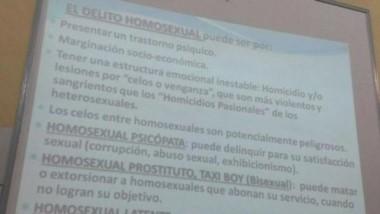 Apartaron a la docente acusada de enseñar contenidos homofóbicos en la UBA.