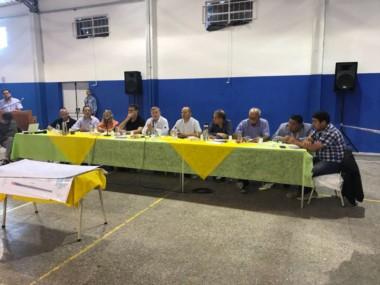 Aranguren encabezó el encuentro sobre minería (foto @wallycalderon)