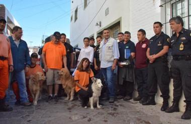 La tarea se realizará por 22 kilómetros en navegación, con los perros adiestrados y buzos de la región.