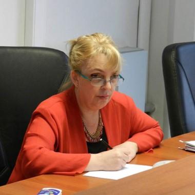 Patricia Asaro fue la presidente del tribunal femenino de la condena.
