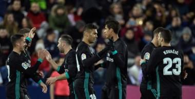 Real Madrid se tomó revancha ante Leganés, que lo había eliminado de Copa del Rey, y le ganó por la Liga.