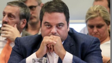 Jorge Triaca, ministro de Trabajo: