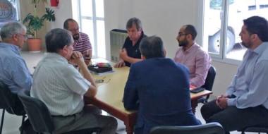 Encuentro en Rawson. La Federación Empresaria de Chubut recibió al coordinador del Proyecto Patagonia .