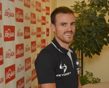 Parra visitó Jornada y contó sus sensaciones tras ser campeón patagónico por primera vez. Ahora competirá en el Medio Iron Man de Bariloche.
