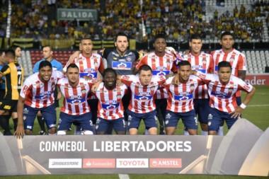 El equipo colombiano empató sin golesen Paraguay pero, por el 1-0 en la ida, jugará en el Grupo de Boca, Alianza Lima y Palmeiras.