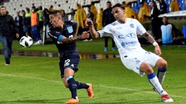 Racing no pudo sostener la victoria y Godoy Cruz se lo empató en Mendoza.