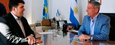 Durante el aniversario, Arcioni reflejó que Chubut no debe ser una provincia netamente extractiva y también recibió el respaldo de parte del intendente de 28 de Julio.