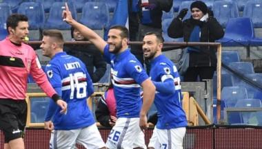 El ex Boca, Matías Silvestre, abrió la victoria de Sampdoria.