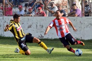El equipo portuario arrancó ganando pero no lo pudo sostener en Cerri. (foto: @sansinena).