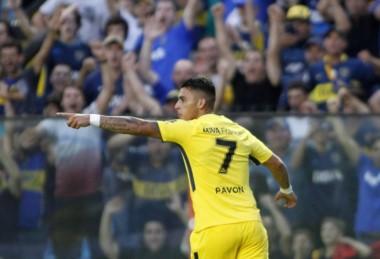 Pavón jugó desde el arranque en los últimos 54 partidos oficiales de Boca y su nivel es cada vez mejor.