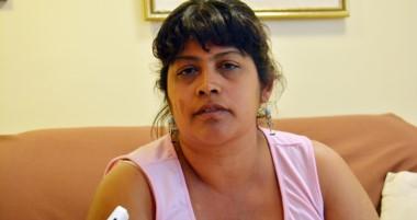 Alicia Alejandra Daza pidió que la Policía intervenga. No quiere que sus hijos sigan la cadena de violencia.