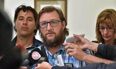 Goodman habló con la prensa, luego del breve encuentro con Mammarelli y Cigudosa, que explicaron que se había caído la negociación.