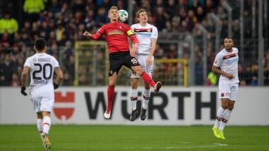 El Leverkusen de Alario no pudo en su visita a Friburgo.