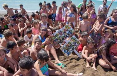 Más de 700 chicos de la capital provincial tomaron parte de la Colonia de Vacaciones.