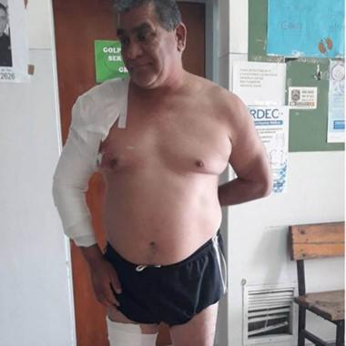 Ernesto es un apreciado vecino de Trelew, que aun jubilado no lo dudó.