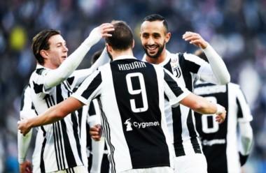 Higuaín registra 49 goles en 87 partidos oficiales con la Juventus.