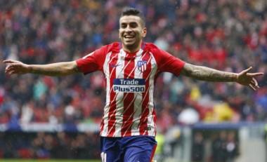 Ángel Correa anotó el gol del triunfo. Los dirigidos por Diego Simeone le han sacado diez puntos de ventaja al Real Madrid.