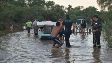 Hay más de 7.500 evacuados en Salta por las inundaciones. La crecida del río Pilcomayo tocó un nivel histórico.