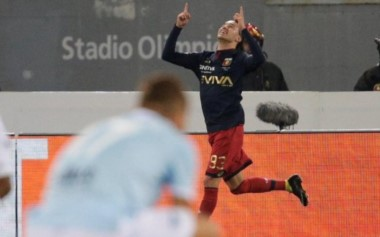 Con un gol a los 92', Genoa le ganó de visitante a Lazio.
