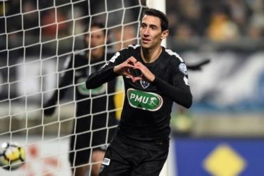 """El """"Fideo"""" marcó tres goles en clasificación del PSG."""