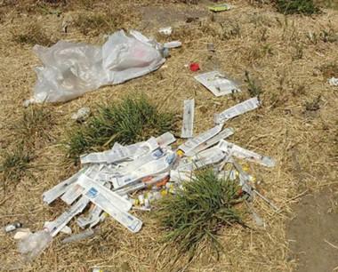 Son frecuentes los hallazgos de estos residuos.