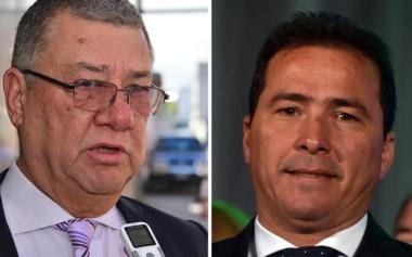 Blas Meza Evans (izq.) y Diego Correa.