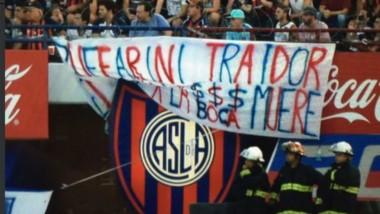 La cruda confesión de Julio Buffarini tras el repudio de los hinchas de San Lorenzo: