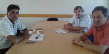 Ignacio Agulleiro se reunió con representantes del Grupo Newsan.