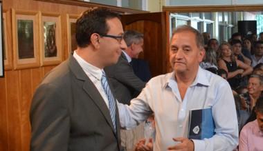 """Linares calificó al intendente Maderna como un """"amigo personal""""."""