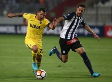 En la ida en Lima, Alianza y Boca igualaron sin goles.