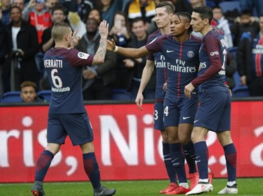 PSG aplastó a Metz 5-0 con goles de Meunier-Nkunku 2-Mbappé-Thiago Silva. Le lleva 14 puntos de ventaja a Monaco en la Ligue 1.