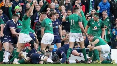 Irlanda se proclamó campeón del Seis Naciones a una fecha del término del torneo.