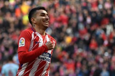 Correa cerró la goleada de Atlético Madrid sobre Celta de Vigo.
