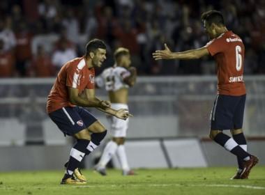 Independiente se subió al podio de la Superliga. Con 35 puntos quedó a tres de Talleres y a once de Boca, aunque con un partido menos que ambos.