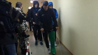 Dura noticia: Mammana se rompió los ligamentos cruzados.