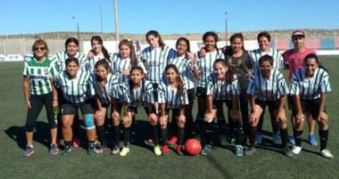 Germinal Verde y Blanco, el equipo que sufrió el pasado domingo una derrota que invita a la reflexión.