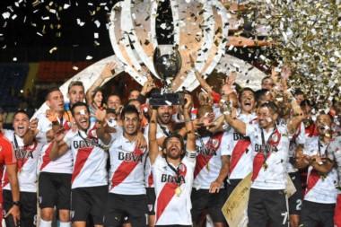 River venció a Boca, festejó en el Malvinas y es el campeón de la Supercopa.