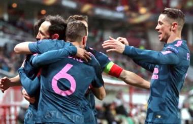 Atlético Madrid, con muchísima jerarquía por sobre otra cosa, aplastó de visitante al Lokomotiv.