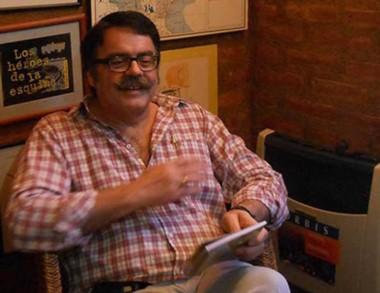 El escritor Sergio Pravaz presentó un libro en la primera jornada.