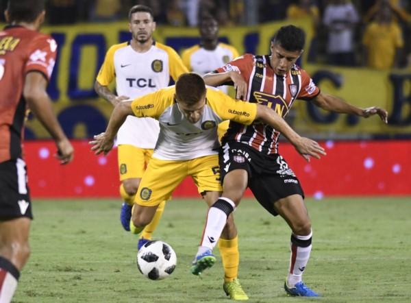 Rosario Central fue eficaz en ataque y goleó a Chacarita.