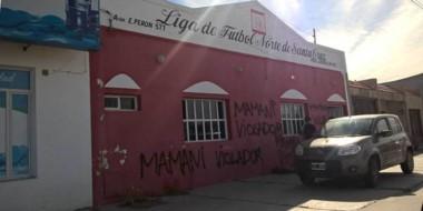 La sede de la Liga Norte de Santa Cruz, emplazada en Caleta Olivia. Desde Río Mayo, indican que hay discriminación.