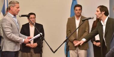 La asunción. Miguel Arnaudo asumió en el ISSyS en un momento muy complicado para la institución.